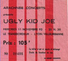 Ticket Ugly Kid Joe