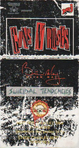Ticket Guns n' Roses