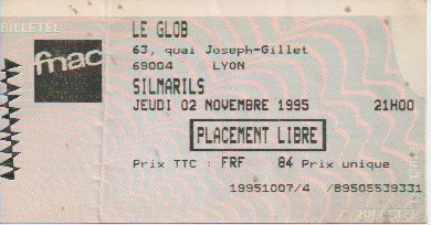 Ticket Silmarils