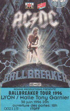 Ticket AC/DC