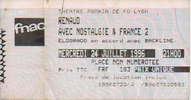 Ticket Renaud