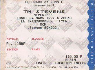 Ticket T.M. Stevens