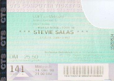 Ticket Stevie Salas