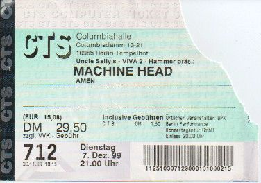 Ticket Machine Head