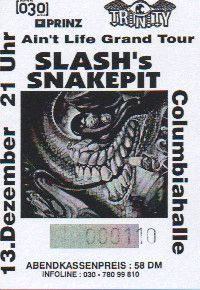 Ticket Slash's Snakepit