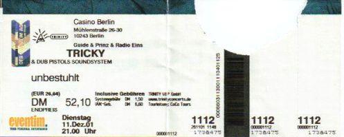 Ticket Tricky