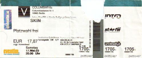 Ticket Skin