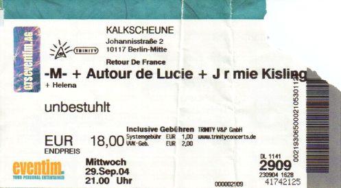 Ticket M