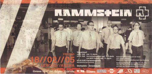Ticket Rammstein