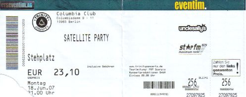 Ticket Satellite Party