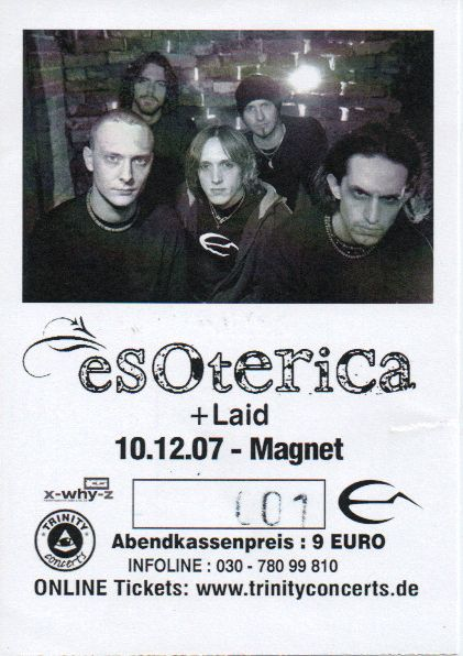 Ticket Esoterica