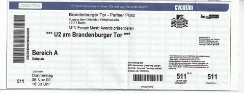 Ticket U2