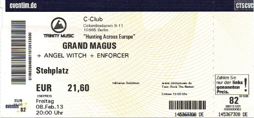 Ticket Grand Magus