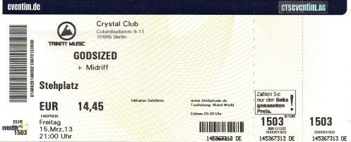 Ticket Godsized