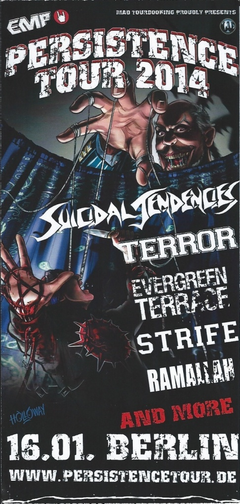 Ticket Suicidal Tendencies