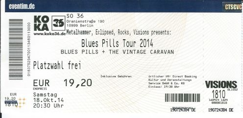 Ticket Blues Pills