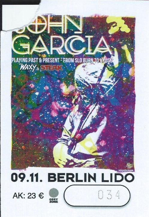 Ticket John Garcia