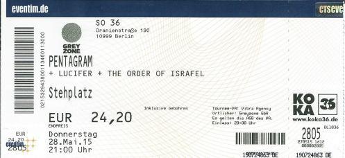 Ticket Pentagram