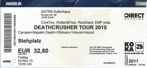 Ticket Deathcrusher