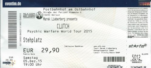 Ticket Clutch