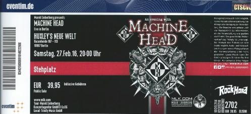 Ticket Machine Head