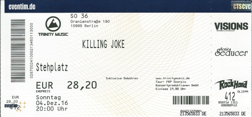 Ticket Killing Joke