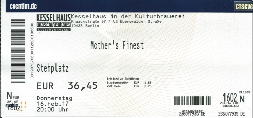 Ticket Mother's Finest